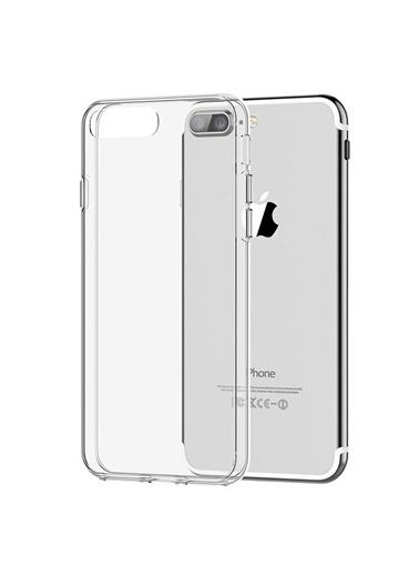 Microsonic iPhone 8 Plus Kılıf Kristal  Renksiz